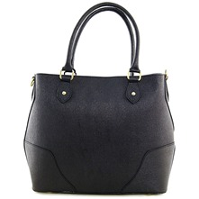 Women bags: Black Leather Handbag