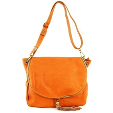 Women bags: Tan Leather Shoulder Bag