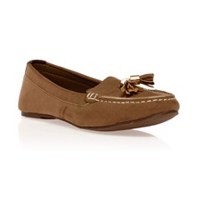 Mocassins taupe