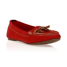 Mocassins rouges