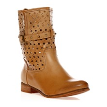 Boots marron clair