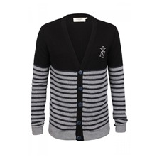 Cardigan Durish noir et gris