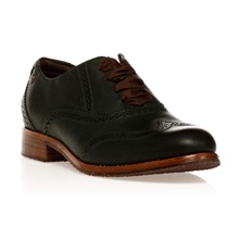 Derbies Claremont Brogue en cuir vert