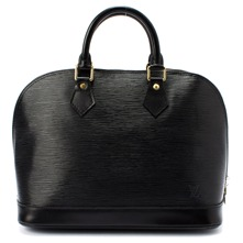 Women bags: Black Alma Leather Tote Bag