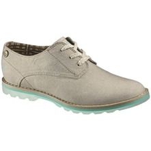 Women footwear: Taupe Lyrical Canvas Shoes