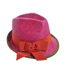 Chapeau Johnny fuschia