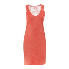 Robe sans manches Vilma orange