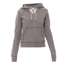 Sweat à capuche New Essential gris