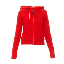 Sweat à capuche New Essential rouge