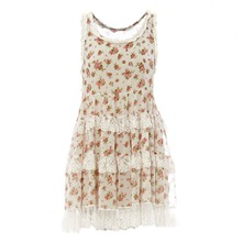 Robe en liberty blanche