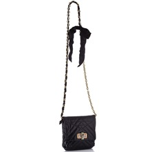 Women bags: Black Leather Small Cross Body Bag