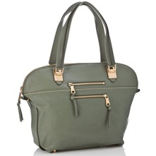 Women bags: Green Angie Leather Handbag