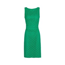 Robe sans manche verte