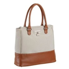 Sac shopping Chantilly beige