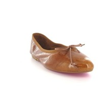 Ballerines Barcelone en cuir or