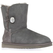 Women footwear: Grey Bailey Bling Shearling Boots