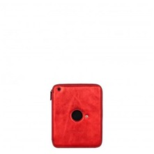 Etui Ipad 2 K'ROCK en cuir rouge