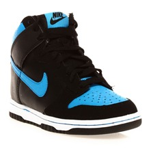 NIKE DUNK HIGH (GS) - Sneakers - schwarz