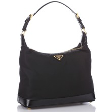 Women bags: Black Branded Small Shoulder Bag