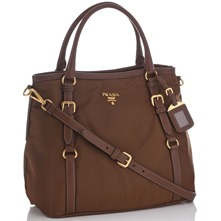 Women bags: Brown Branded Flight Bag