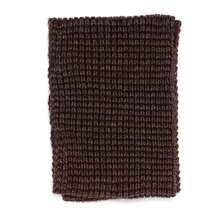 Snood en maille fantaisie taupe