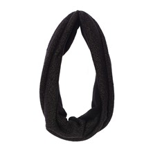 Snood Allison lurex noir