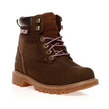 Chaussures montantes Willow Womens Tyre en cuir marron
