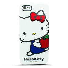 Hello Kitty - Coque pour iPhone 5 - blanc