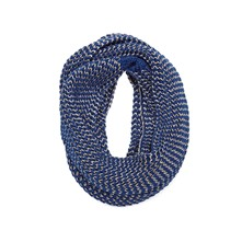Snood bleu marine
