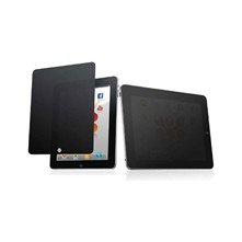 iPad 2/3/4 - Screenprotector Privacy effect - zwart