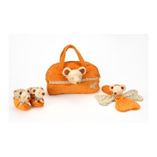 Mimi la souris - Nachmittags-bei-Oma-Set - orange