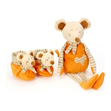 Mimi la souris - Bei-meiner-Nanny-Set - orange