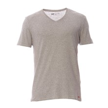 Slim Fit - Set van 2 T-shirts - wit en grijs