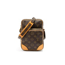 Amazone Monogram - Borsa Louis Vuitton - in pelle marrone scuro