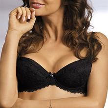 Lia - Sujetador push up - negro