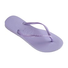 slim - Teenslippers - paars