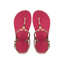 Freedom Neon - Nu-pieds - rose et or