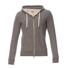 Original zip Up Hoodie - Kapuzensweatjacke - graumeliert