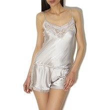 Teddy lune projection privée - Mono-short - gris