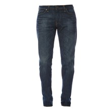 504 - Jeans straight - washed blauw