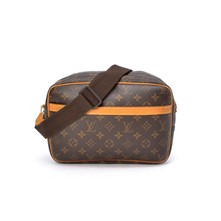 Reporter Monogram - Borsa Louis Vuitton - marrone scuro