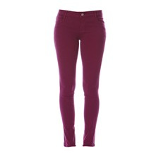 Pantalon slim - fuschia