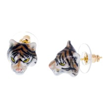 Mini Tigre - Pendientes - multicolor