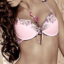 Natali - Sujetador push up - rosa