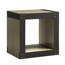 Table d'appoint 4 modules - Vert olive