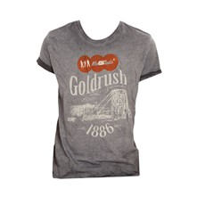 Goldrush - T-Shirt - grau