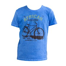 Bicycle - T-shirt - hemelsblauw