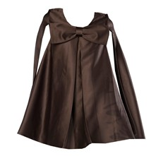 Robe cape - marron