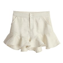 Mini short - blanco