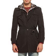 Impermeable - negro